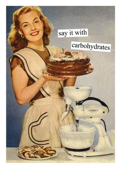 Funny Nurse Birthday Wishes : funny, nurse, birthday, wishes, Taintor, Gratulationskort, Carbohydrates, Vintage, Humor,, Birthday, Retro, Humor