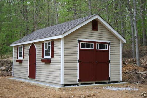 Amish Built 12x20 A Frame Vinyl Storage Shed With Upgraded Garden Package Garden Storage Shed Vinyl Storage Sheds Shed