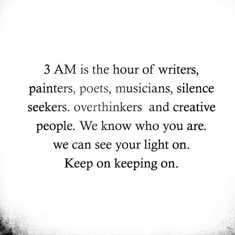 The odd hour is our Muse  While you dream... we make dreams.