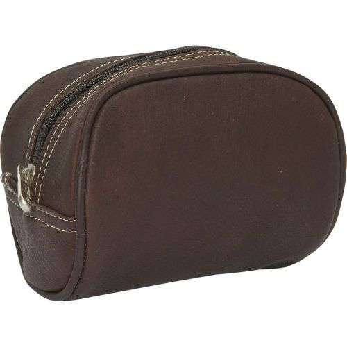 Piel Cosmetic Bag (Chocolate) Piel Leather. $27.99. Save 30%!