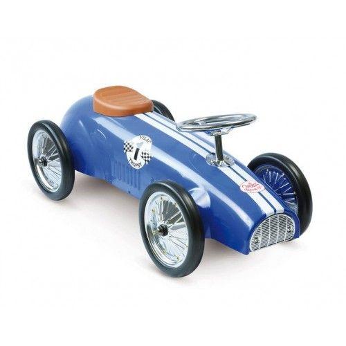 Metalen racewagen *Vilac* blauw - CQstijl.nl -