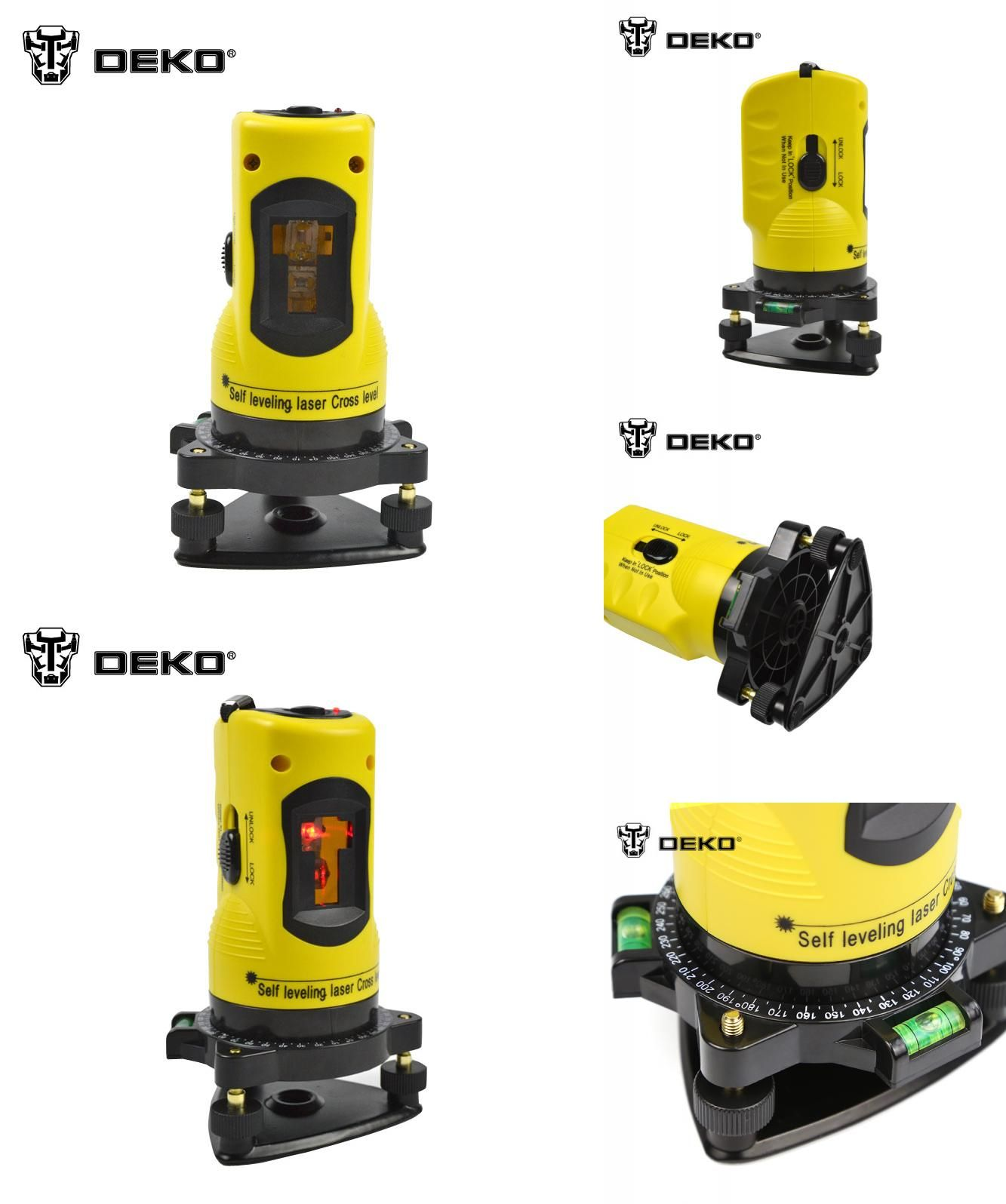 Visit To Buy Deko New Professional 2 Lines Laser Level 360 Rotary Cross Laser Line Leveling Can Be Used With Outdoor Receiver Adver Rotary Deko