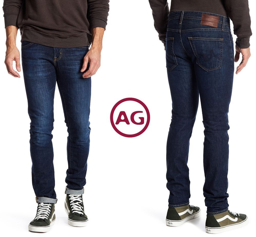 AG Adriano Goldschmied Mens The Dylan Slim Skinny Leg Led Denim