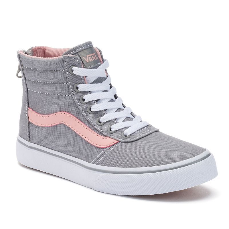 Vans My Maddie Zip Girls\u0027 High,Top Skate Shoes
