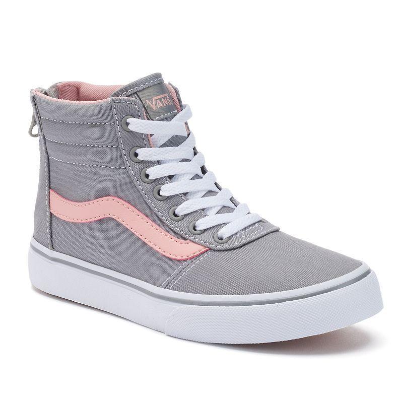 Vans My Maddie Zip Girls\u0027 High,Top Skate Shoes