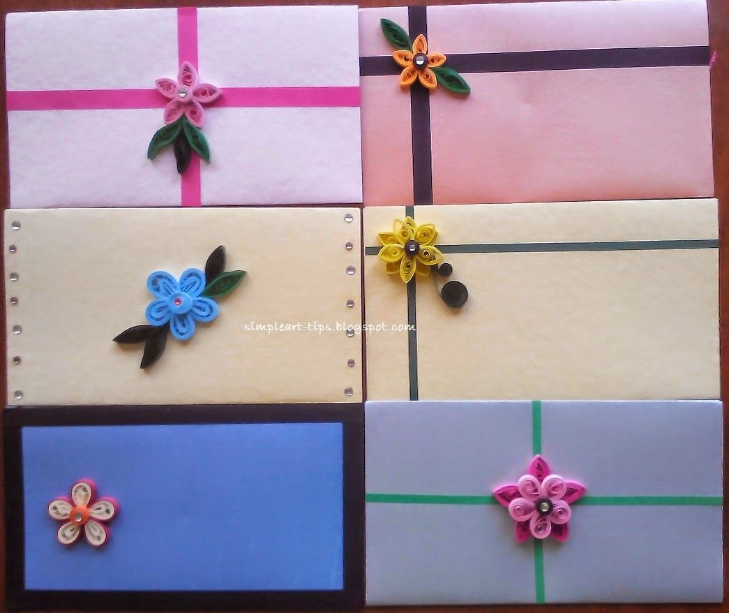 Quilled gift envelopes | Quilling | Pinterest | Envelopes, Quilling ... for Simple Quilling Designs For Envelopes  117dqh