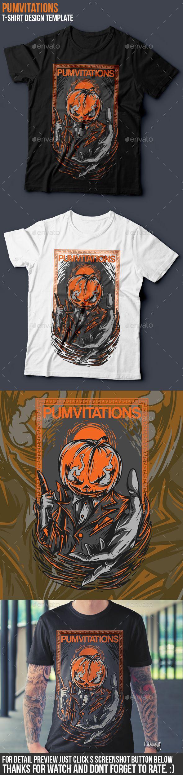 Shirt design eps - Pumvitations T Shirt Design