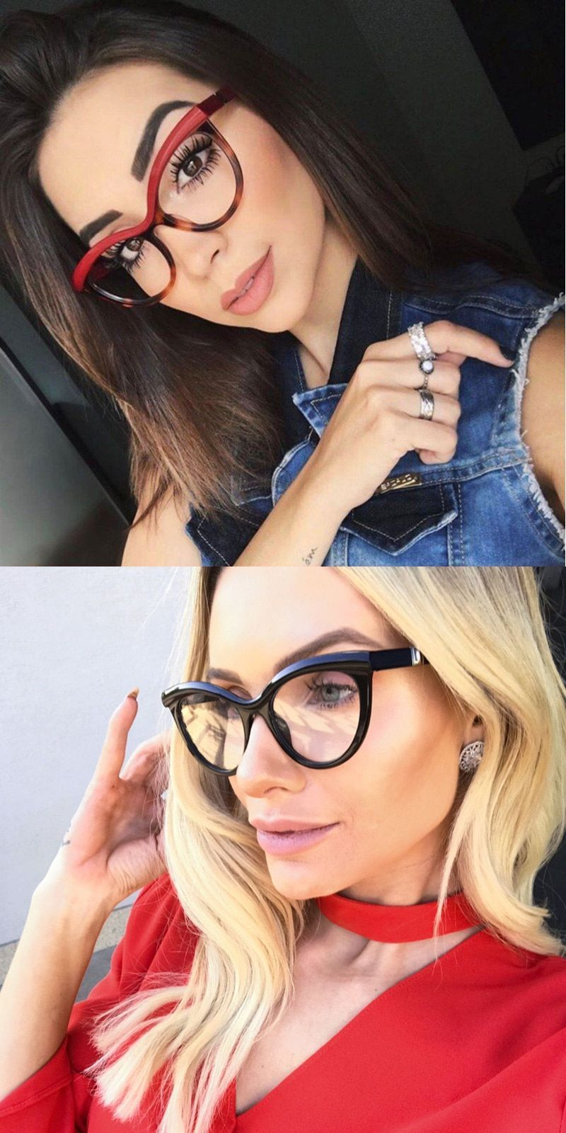 d153d06b550 Vintage brand designer cat eye eyeglasses women frame designer brand design  cat eye glasses high quality