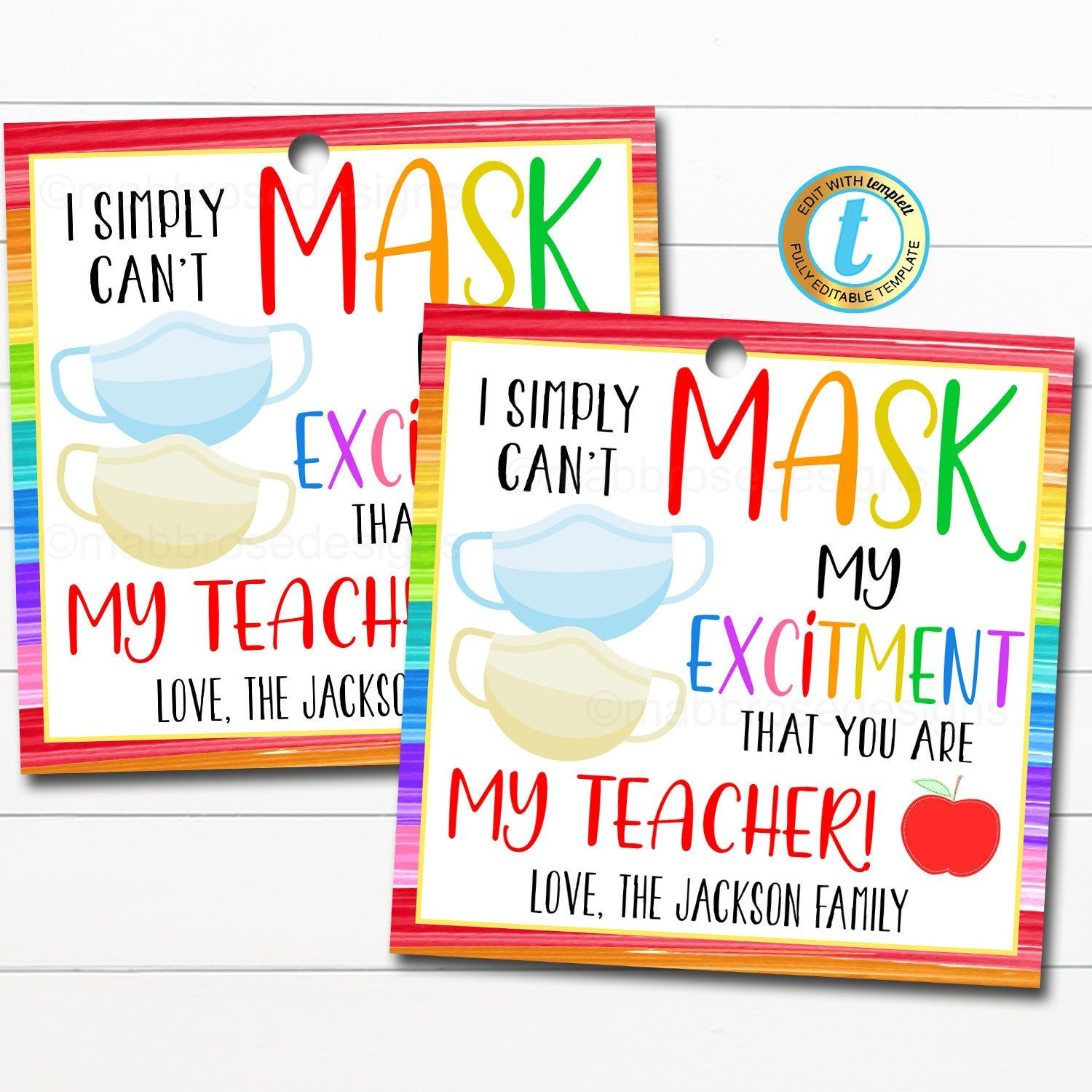 Coworker gift PTO PTA gift back to school first day of school teacher appreciation xmas gift Personalized coffee gift tag for teacher
