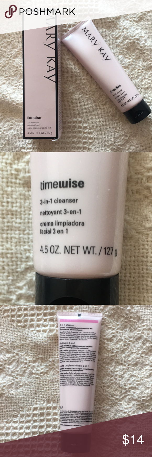 TimeWise 3in1 Cleanser Cleanser for normal to dry skin