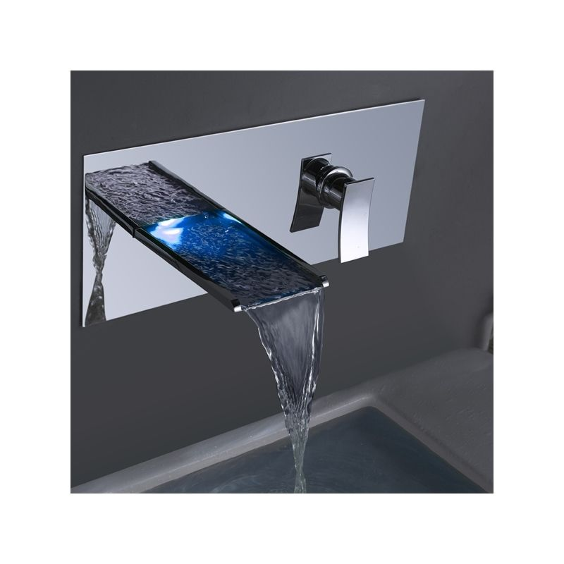 Led Wasserhahn Wandmontage Glas Badewanne Wasserhahn Wandmontage Wasserhahn