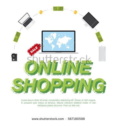 Online shop concept on the sale of digital technology world map on explore world maps online shopping and more gumiabroncs Gallery