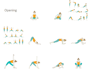 pin em yoga sequences for women