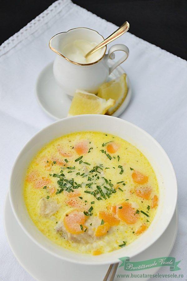 Ciorba A La Grec Food Artisan Food Turkey Soup Recipe