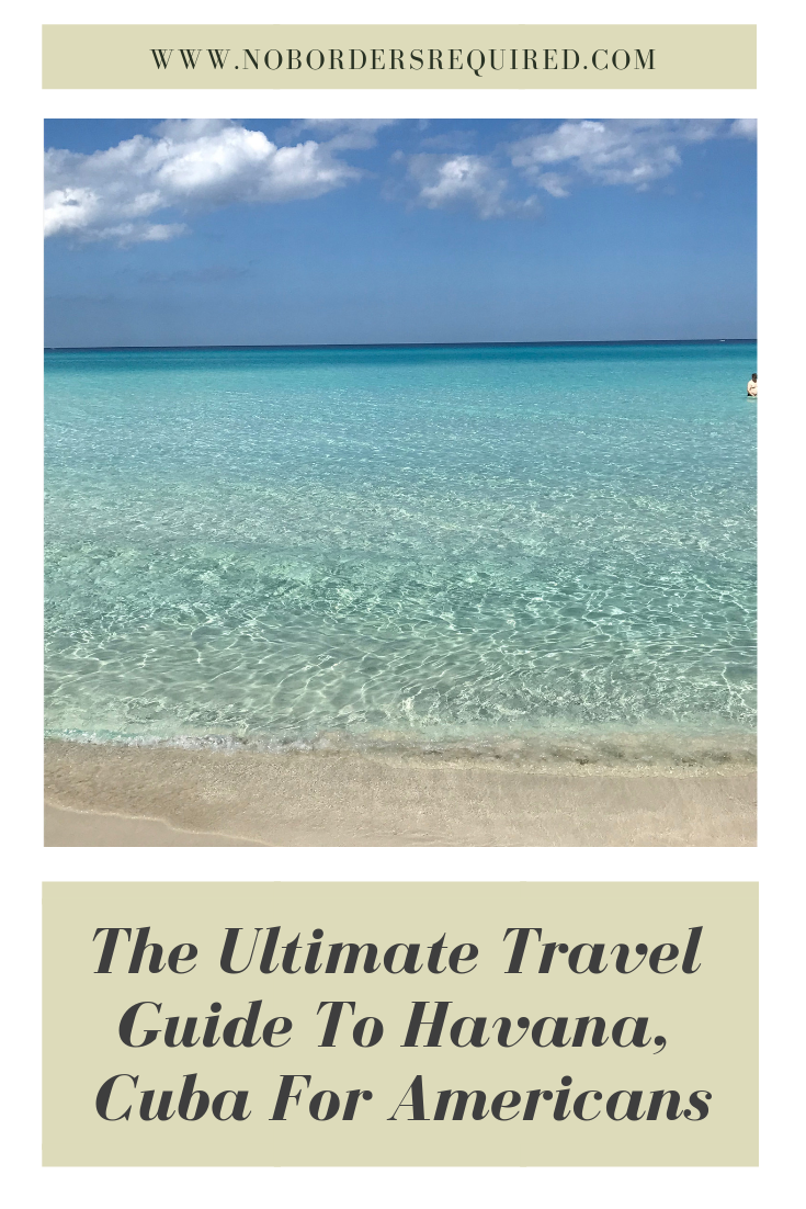 Ultimate Guide To Havana Cuba for Americans – 2019 #cubaisland Want to go to Cuba as an American? Here's what you need to know about your tourist visa situation. And here are the best things you want to do in Cuba from rum and cigars, to the capital building, to the museum of the revolution. Get all you need to know in this Havana Cuba travel guide! #havana #cuba #island #travelguide #wanderlust #Caribbean #solotravel #travel #digitalnomad #cubaisland