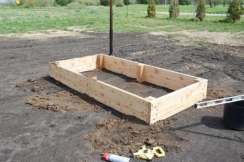 Raised Bed Garden 3x6 From Weekend Plans: Beds U0026 Nugget Boxes   Diydiva
