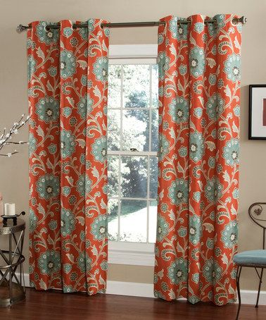 Another Great Find On Zulily Cinnabar Ankara Curtain