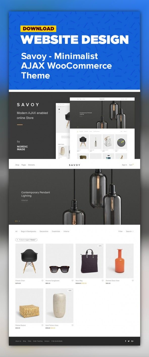 Möbel Modern Design Builder Clean Ecommerce Flat Minimal Mobile Modern Shop
