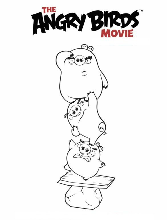 6 Coloring Pages Of Angry Birds Movie With Images Coloring Pages Bird Coloring Pages Cool Coloring Pages
