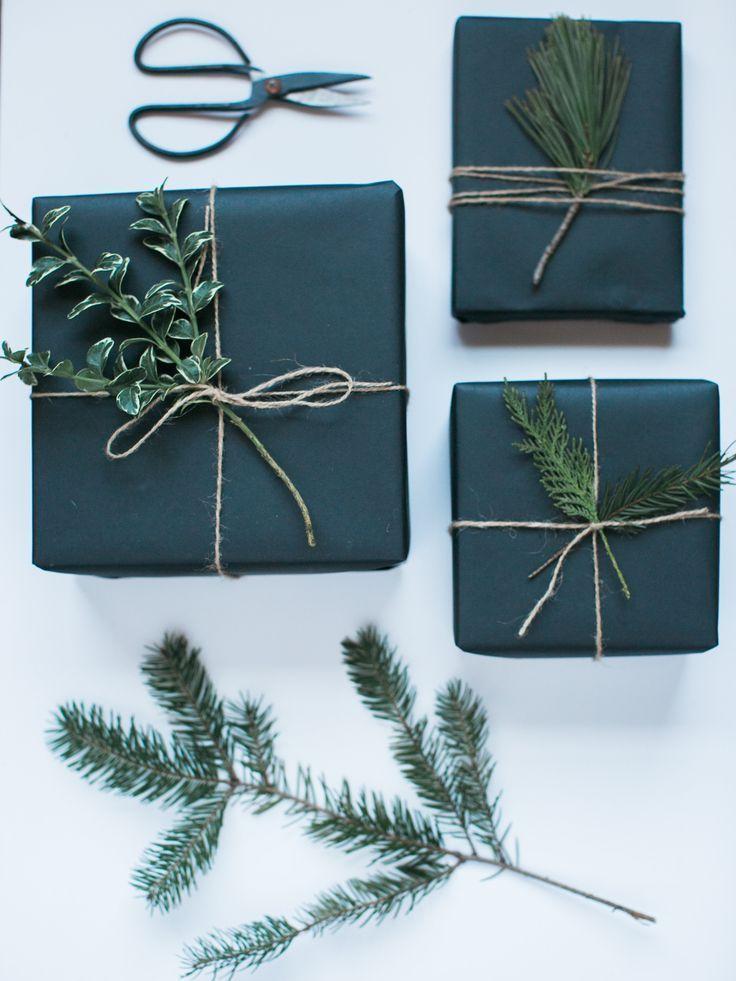 super cute wrapping                                                                                                                                                                                 More #papiercadeau
