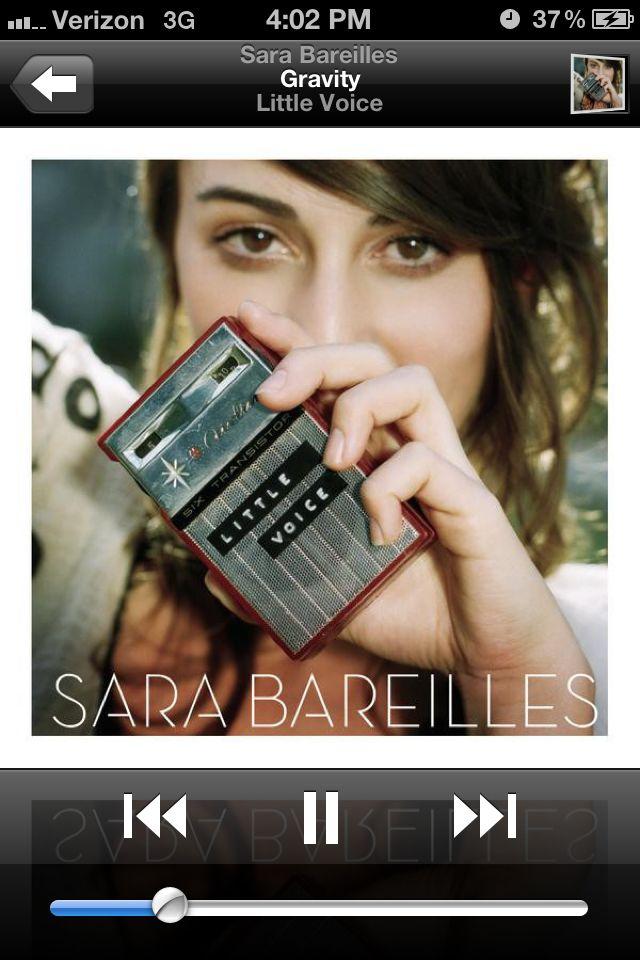 Gravity By Sara Bareilles Favorite Songs Pinterest Sara