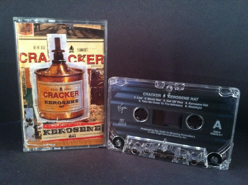 CRACKER - kerosene hat - CASSETTE alternative rock