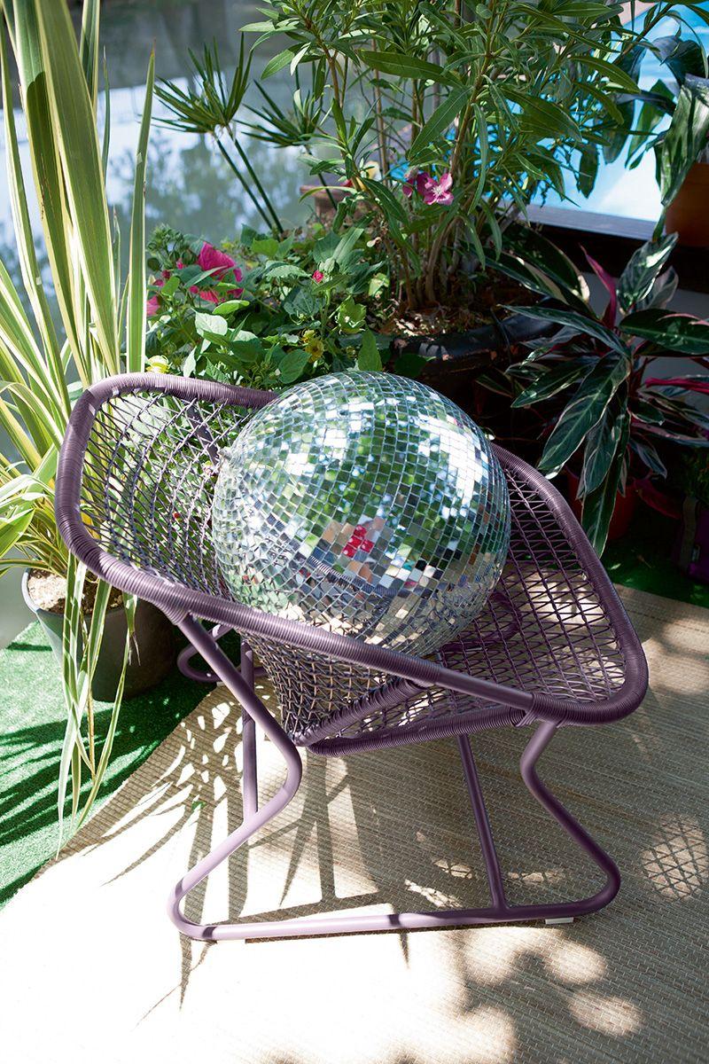 Fauteuil Sixties, fauteuil de jardin pour salon de jardin ...
