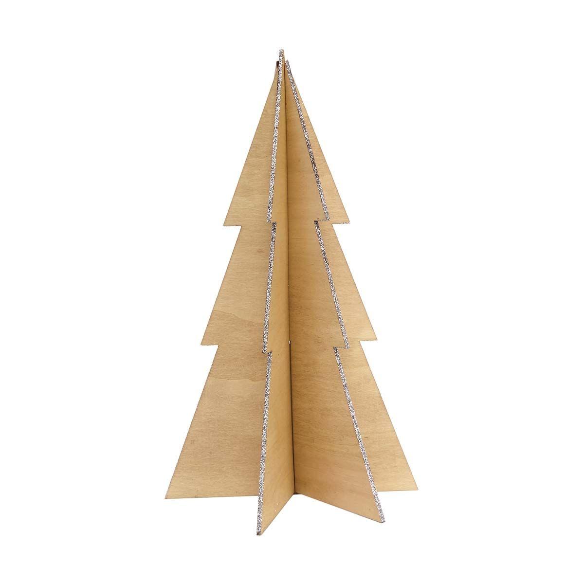 Glittered Decorative Christmas Tree - 40cm, Natural | Kmart ...