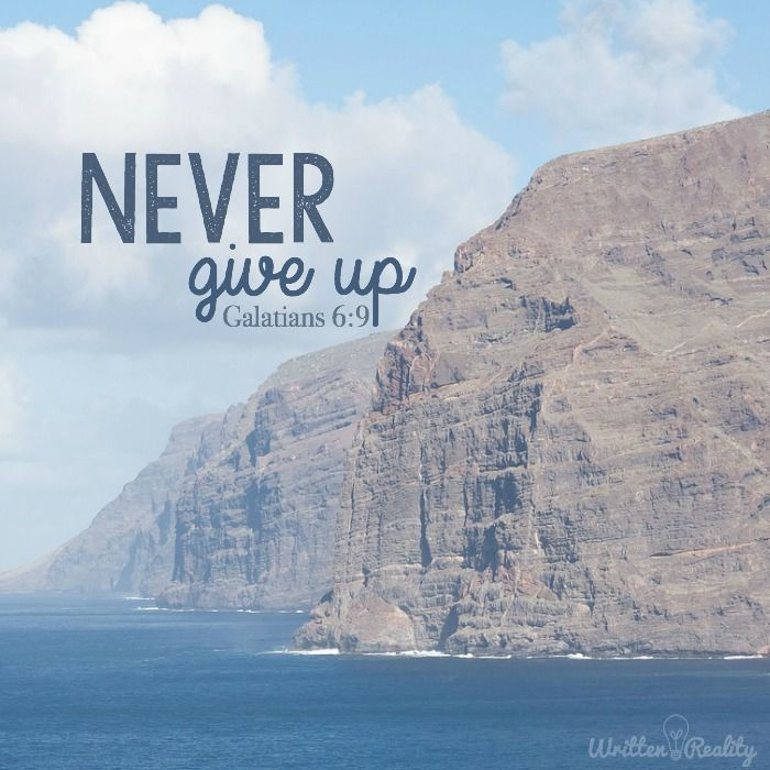 Bible Quotes Never Give Up: Bible Verses, Bible Verses