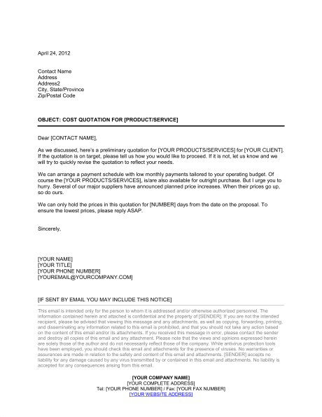 Cover Letter Quotes Templates 2 Cover Letter Template