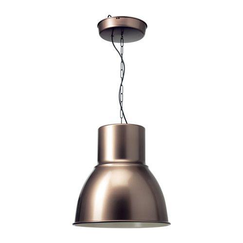 IKEA - HEKTAR, Kattovalaisin, , Luo miellyttävän ja hyvän valon ruokapöydän tai baaritason ylle.Täydennettävä KOPPLA-pistotulpalla, joka myydään erikseen.