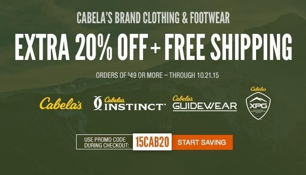 Cabela S Coupons Promo Codes Cabela S Discount Coupons From