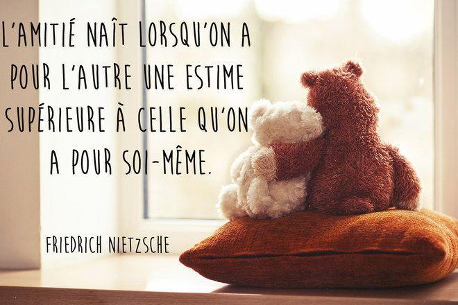 Citation Nietzsche Amitié : Ces citations à partager avec sa meilleure amie des mots