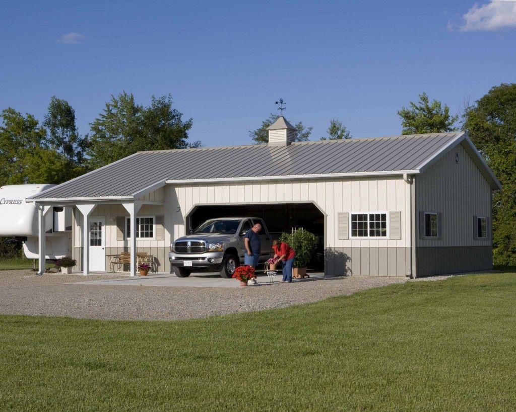 Morton Buildings Garage In Croswell Michigan Pole Barn