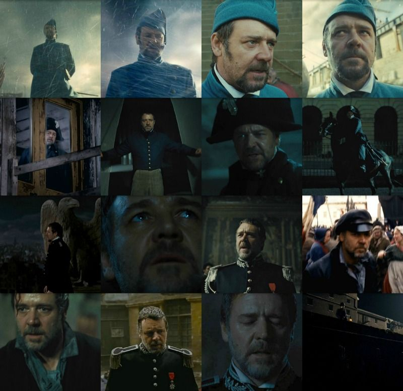 I don't care what people say about Russell Crowe. His depiction of Javert was both powerful and chilling. J…   Les miserables. Les miserables ...