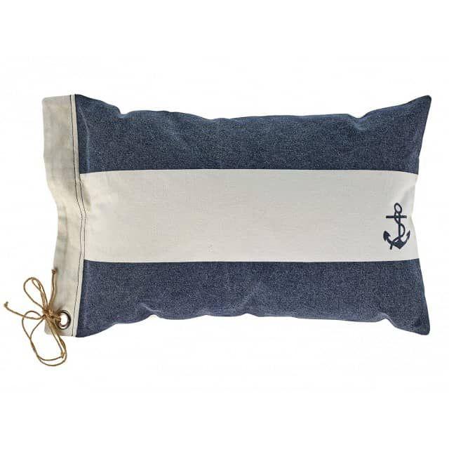 Kissen Maritim maritimes kissen mit ankermotiv in blau weiß my home is my castle