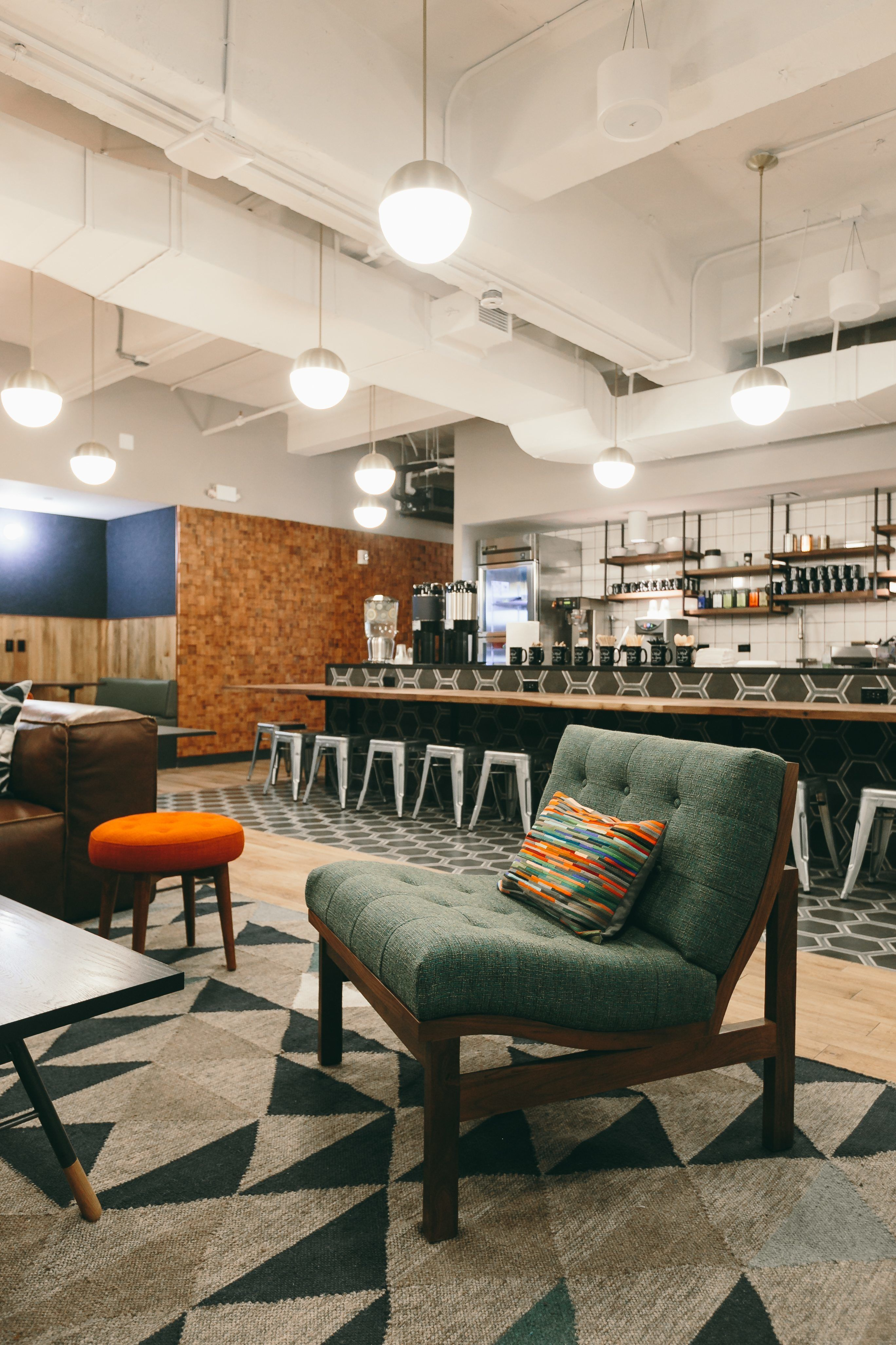 take a tour of wework penn station kitchen pinterest office