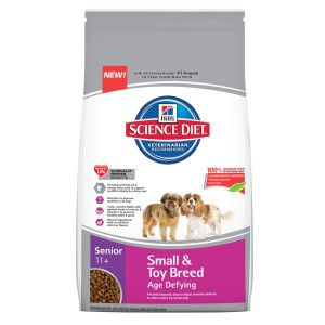 Hill S Science Diet Small Senior Small Paws Dog Food Chicken