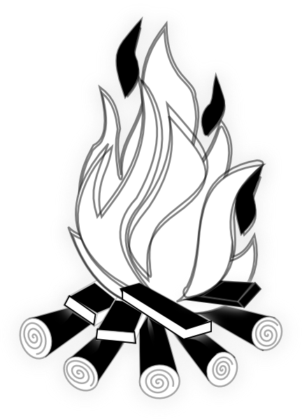 black and white fire clipart camp fire black and white hi png 432 rh pinterest co uk fire department clipart black and white fire department clipart black and white