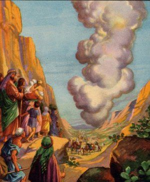 The Exodus God Directed Moses To Lead The Israelites Out Of