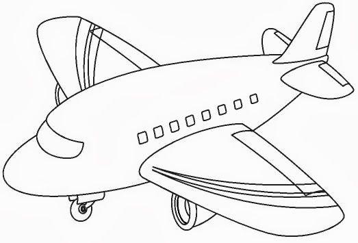 Airplane Coloring Page Airplane Coloring Pages Coloring Pages Airplane Drawing