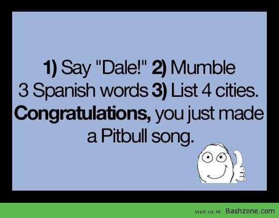 Singing Your Own Pitbull Song | My kinda Funny | Reír, Chistes