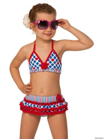 882935b72 traje de baño de punto para niñas