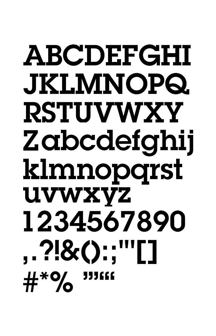 Mid-Century Modern Typefaces Identified   typetoken®   Tour