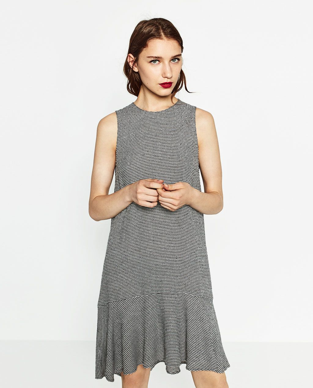 68eaac8e Image 2 of FLOUNCE DRESS from Zara | Style in 2019 | Dresses, Dress ...