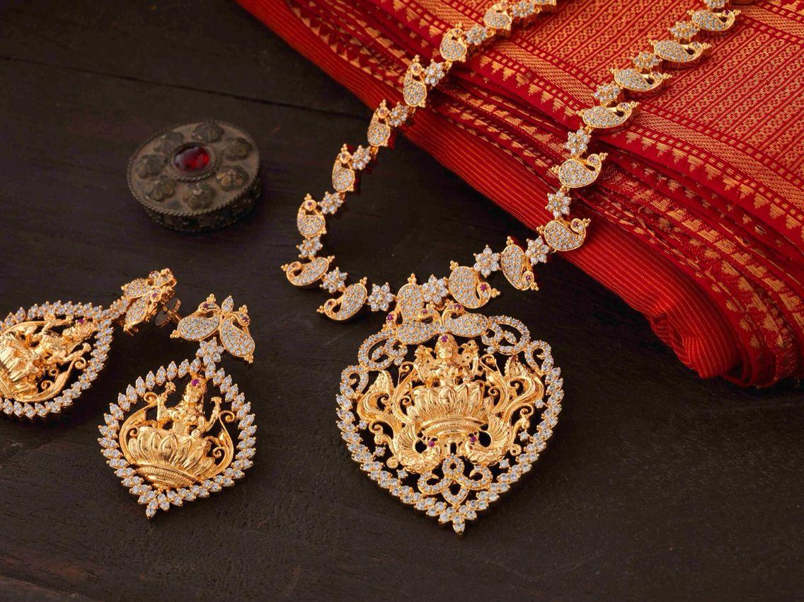 Diamond Indian Wedding Jewelry.