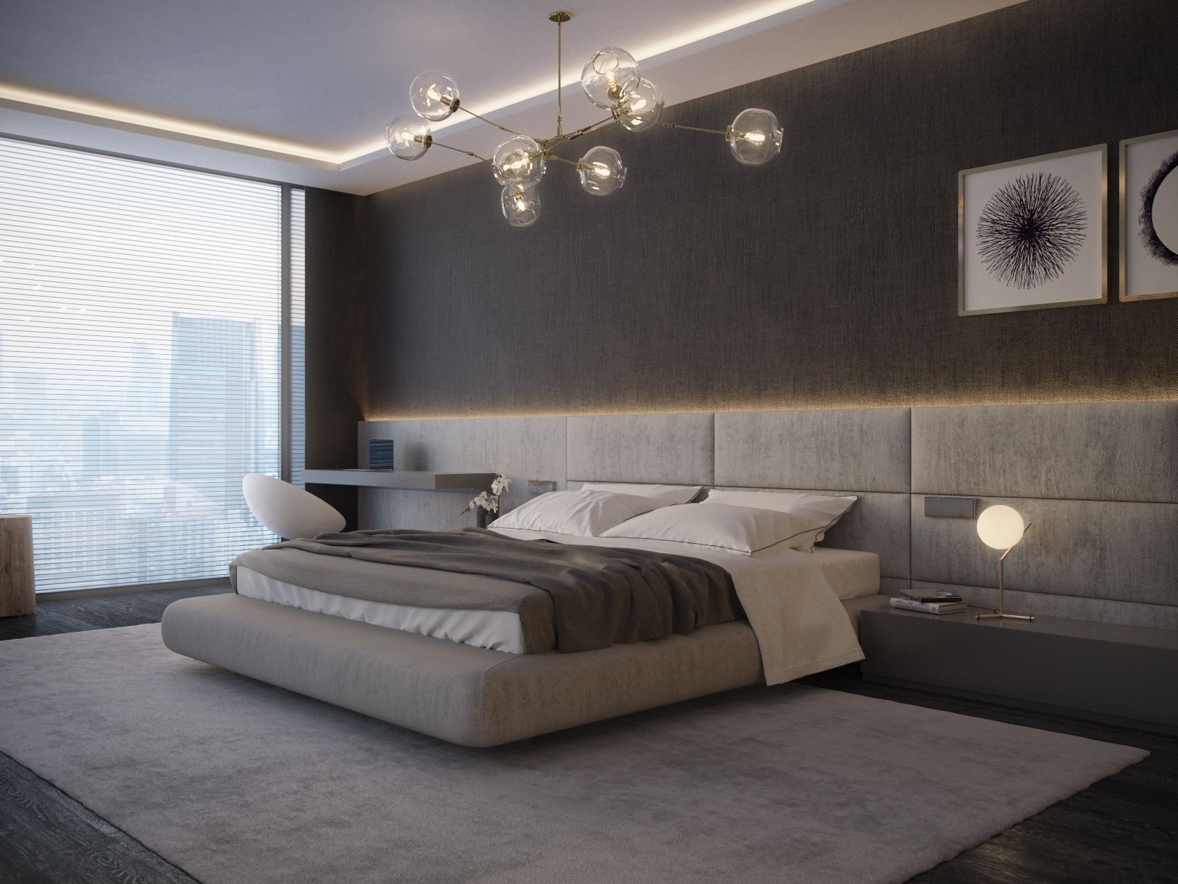 Neutral tones for bedroom is always  good idea with an exquisite lighting that make the room remarkable interiors interiordesign architecture also best design ideas you to apply in your home rh pinterest