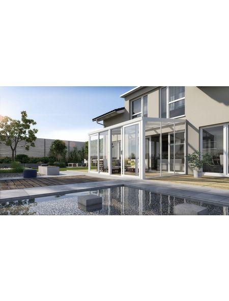 GARDENDREAMS, Gartenzimmer, mit Doppeltür, Weiß