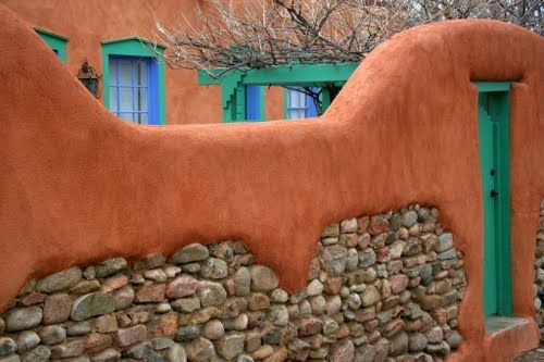 Photo Of Santa Fe Color Palette Hacienda Decor New Mexico Homes Exterior House Color