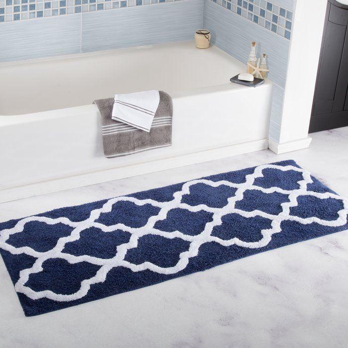 Keating Long Trellis Bath Rug Bath Rugs Sets Bathroom Mats Lavish Home